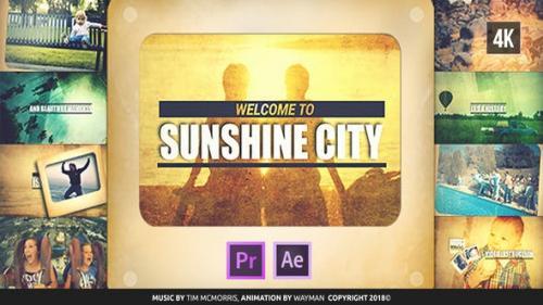 Videohive - Vintage Slideshow | Sunshine City