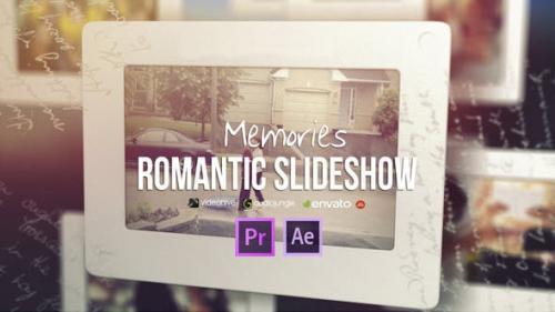 Videohive - Memories - Romantic Slideshow