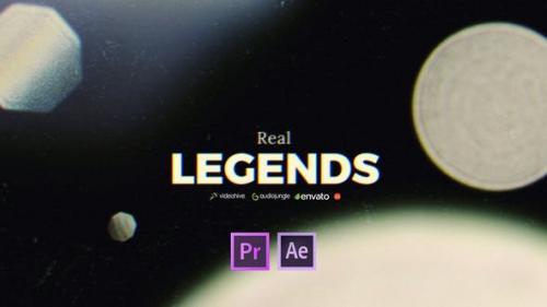 Videohive - Film Titles Slideshow - Real Legends