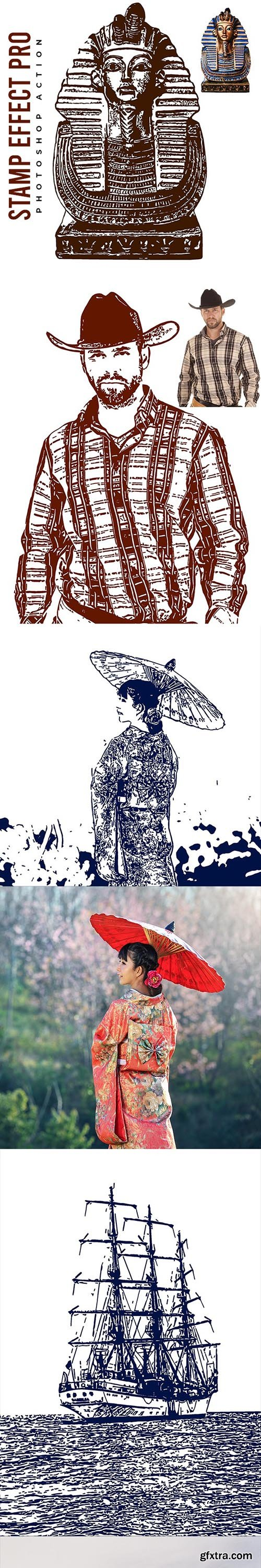 GraphicRiver - Stamp Effect Pro - Photoshop Action 26782161