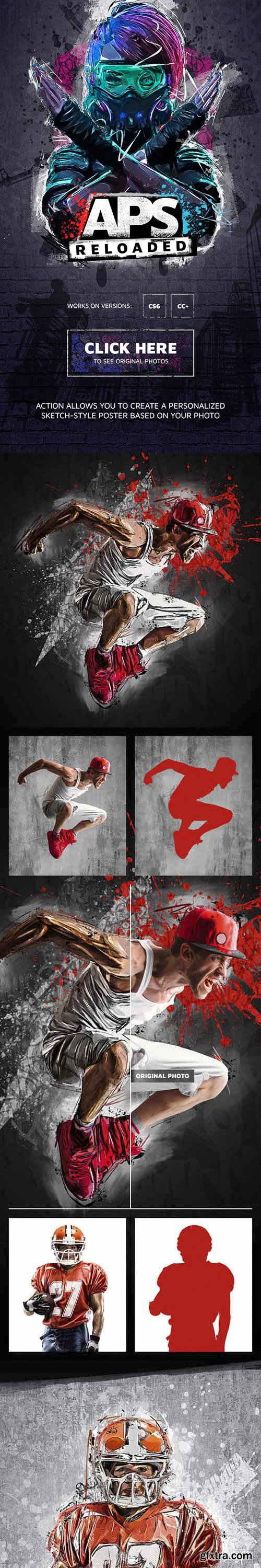 GraphicRiver - APS Reloaded Photoshop Action 28217578