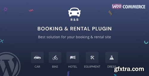 CodeCanyon - RnB v10.0.3 - WooCommerce Booking & Rental Plugin - 14835145