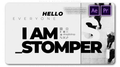 Videohive - Black N White Stomp Opener