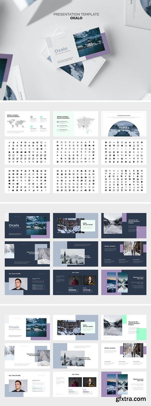Oxalo : Winter Theme Powerpoint