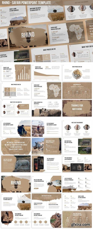 Rhino - Safari Powerpoint Template