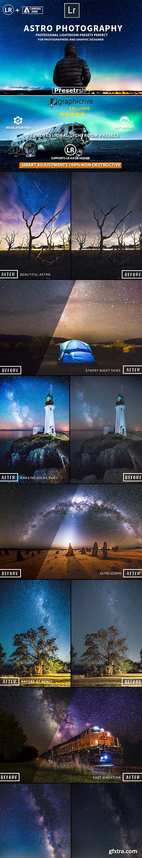 GraphicRiver - 20 Pro Astrophotography Lightroom Presets 21421453