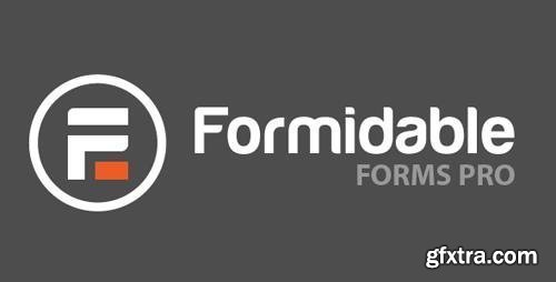 Formidable Forms Pro v4.07 - WordPress Form Builder + Formidable Forms Add-Ons