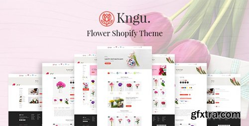 ThemeForest - Kngu v1.0.1 - Flower Shopify Theme - 28329602