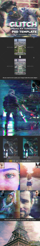 GraphicRiver - Glitch Photo FX Template 27055358
