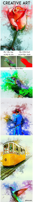 GraphicRiver - Creative Art Photoshop Action 27024129