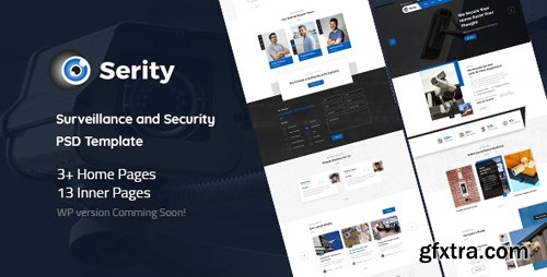 ThemeForest - Serity v1.0 - Surveillance and Security Cameras PSD Template - 26083540