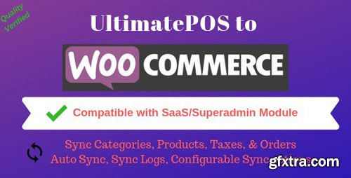 CodeCanyon - UltimatePOS to WooCommerce Addon (With SaaS compatible) v2.0 - 22874559