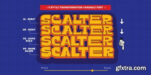 Scalter Font Family