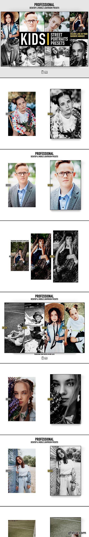 GraphicRiver - Lightroom Presets Kids Portrait Photography Actions 28278069