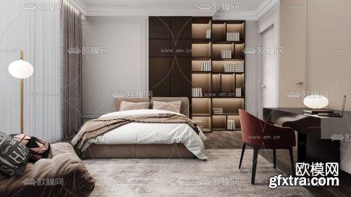 Modern Style Bedroom 453