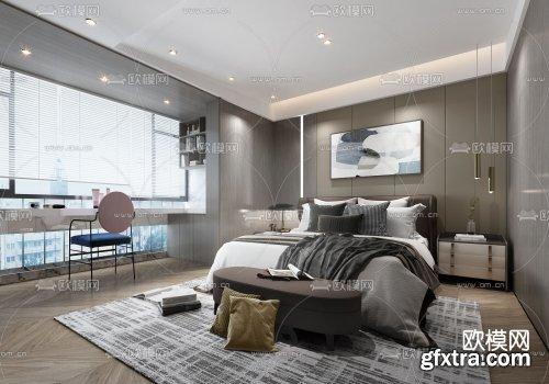 Modern Style Bedroom 454