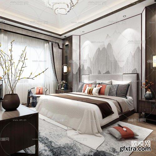 Modern Style Bedroom 456