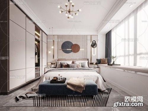 Modern Style Bedroom 461