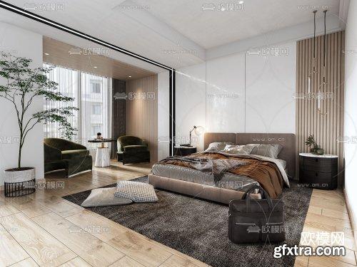 Modern Style Bedroom 465