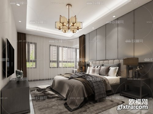 Modern Style Bedroom 469