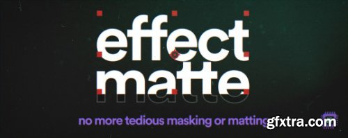 Effect Matte v1.3 for After Effects WIN
