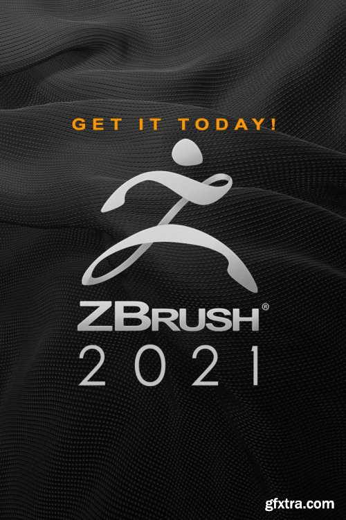 Pixologic ZBrush 2021 (x64) Multilingual Portable