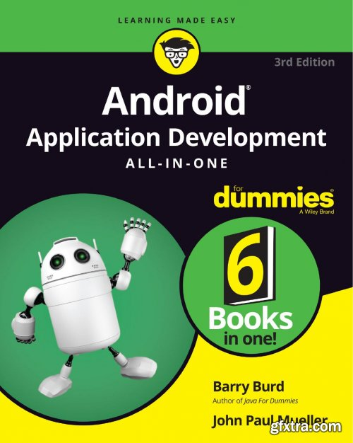 Android Application Development All-in-One For Dummies, 3rd Edition (True PDF)