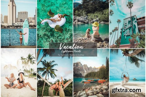 CreativeMarket - Vacation Lightroom Presets 5203607