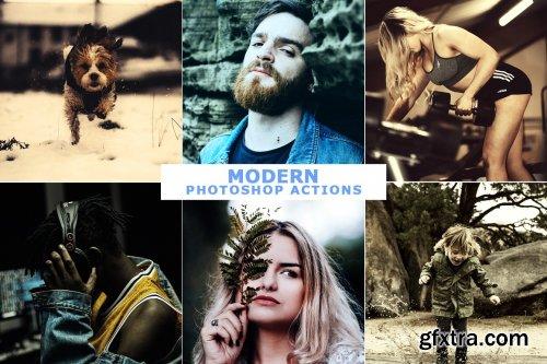 CreativeMarket - 40 Modern Photoshop Actions 5 4699333