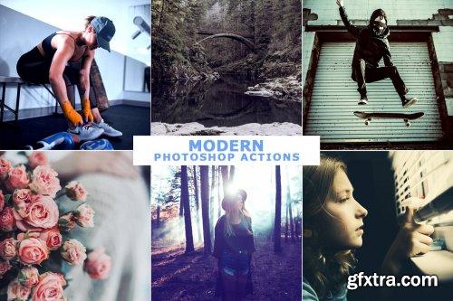 CreativeMarket - 40 Modern Photoshop Actions 6 4704218