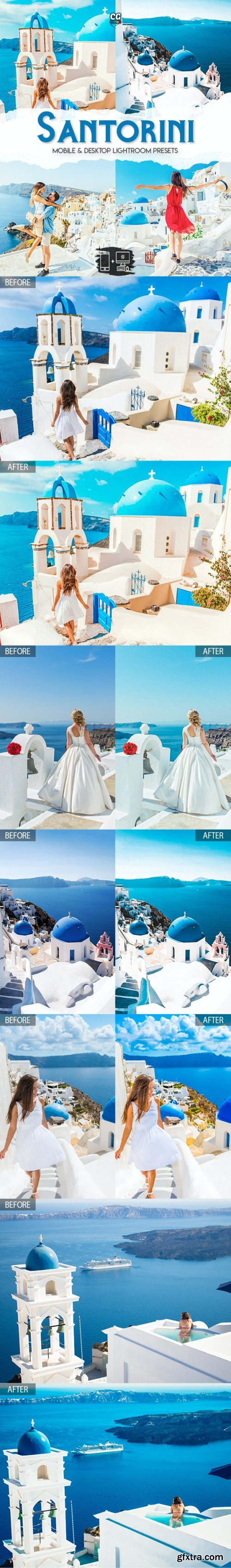 GraphicRiver - Santorini - 15 Premium Lightroom Presets 27933164
