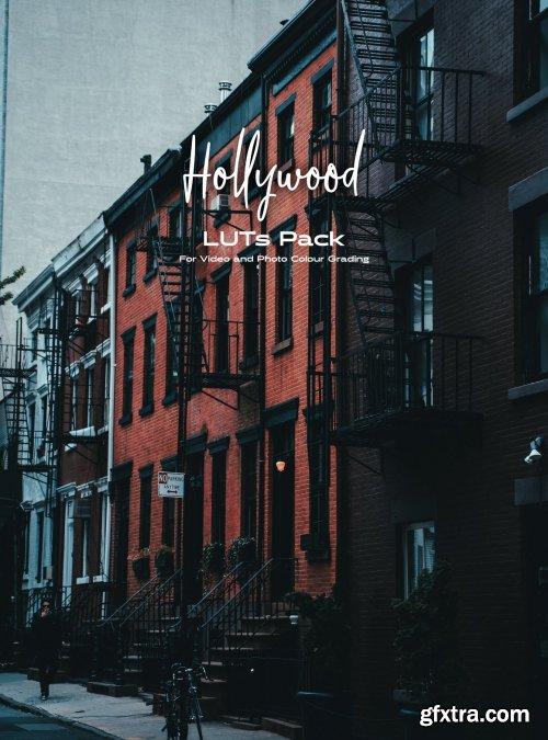 CreativeMarket - Hollywood LUTs pack 4965991