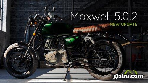 NextLimit Maxwell 5 version 5.1.0 for Cinema4D