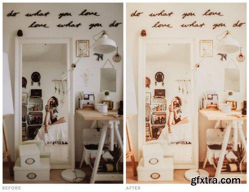 CreativeMarket - Light and Airy Warm Lightroom Preset 4741969