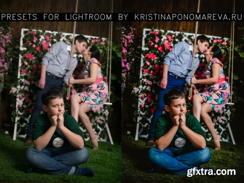 CreativeMarket - Lightroom presets for family photos 5250143