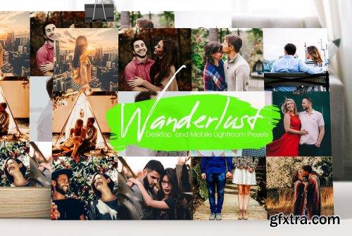 CreativeMarket - Wanderlust Lightroom Presets 5169082