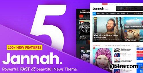 ThemeForest - Jannah v5.0.1 - Newspaper Magazine News BuddyPress AMP - 19659555 - NULLED