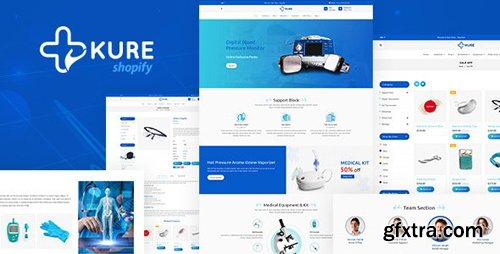 ThemeForest - Corona Medical Shop Shopify Theme - Kure v1.3 - 25704292
