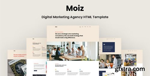 ThemeForest - Moiz v1.0 - Digital Marketing Agency HTML Template - 28363256