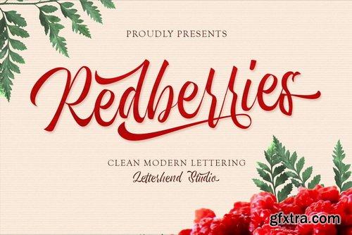 CreativeMarket - Redberries Script - 5314998