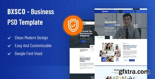 ThemeForest - BXSCO v1.0 - Business Multipurpose PSD Template - 28194067