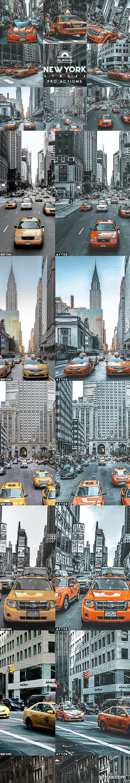 GraphicRiver - New York Street Photoshop Actions 27185178