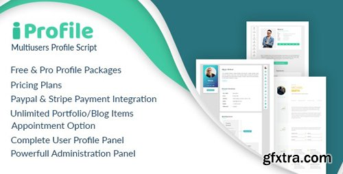 CodeCanyon - iProfile v1.6 - Multiuser Profile & Resume Script (SASS) - 24672008