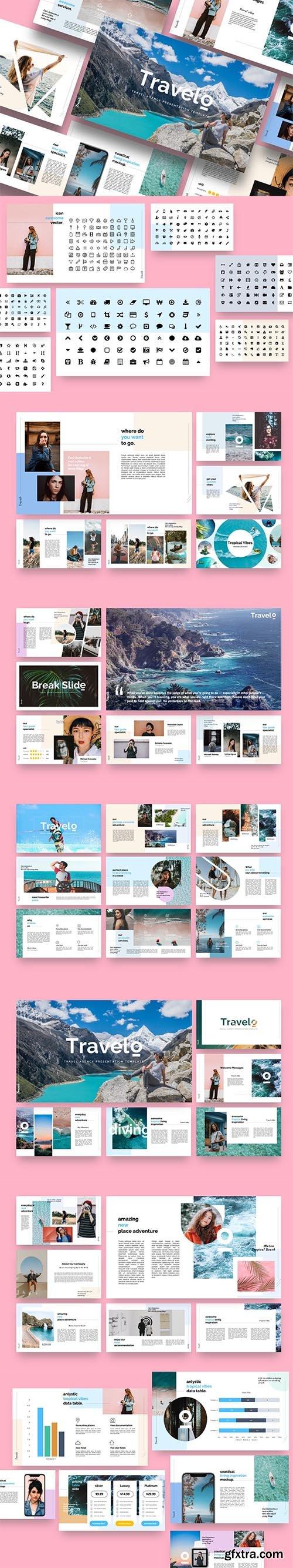 Travelo - Travel Agency Keynote Template