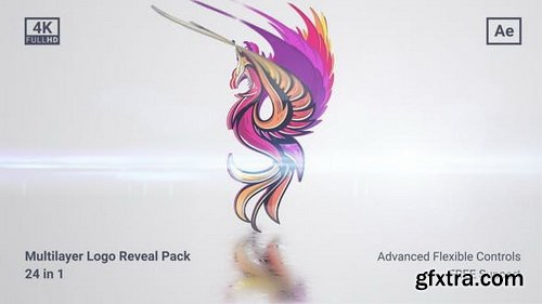 Videohive - Clean Multilayer Logo Pack - 27817646