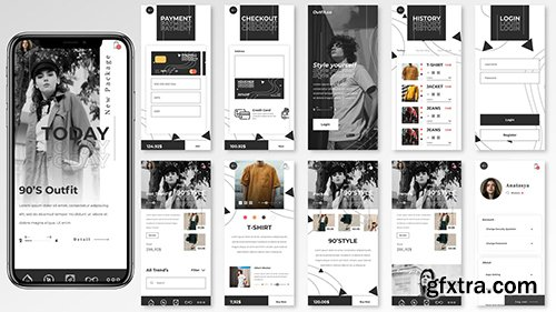 Dolce UI Kit - Fashion Stores Apps