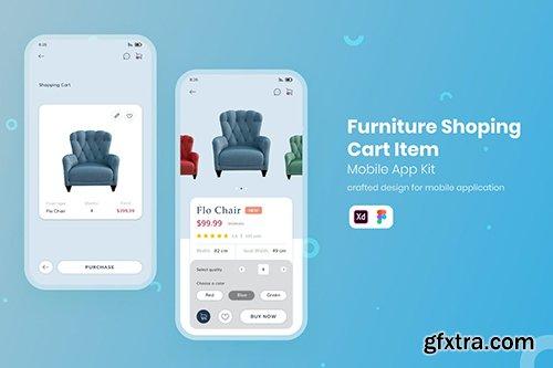 Furniture Shoping UI Mobile KIT