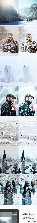 GraphicRiver - Snow Lightroom Presets 28345131