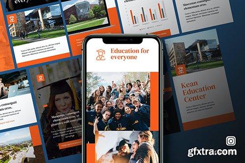 Kean - Education Instagram Kit Keynote