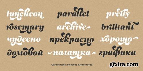 Carelia Font Family